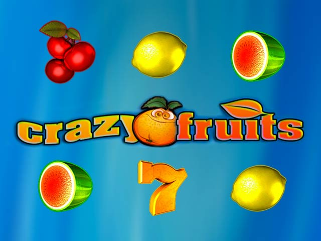 Fruktslotmaskiner Crazy fruits